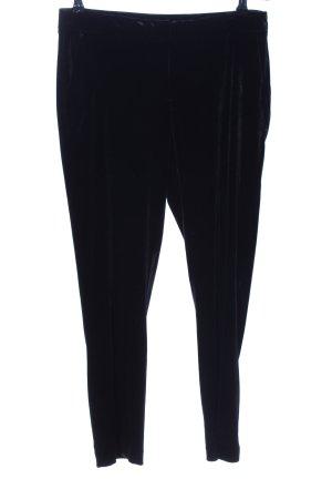 Benetton Jersey Pants black casual look