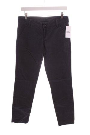 Benetton Jersey Pants slate-gray simple style