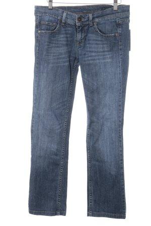 Benetton Straight-Leg Jeans stahlblau Casual-Look