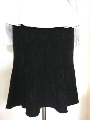 Benetton Knitted Skirt black