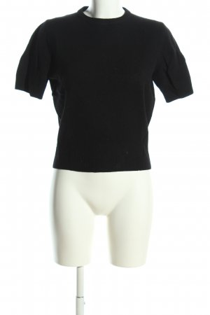 Benetton Koszulka z dzianiny czarny W stylu casual