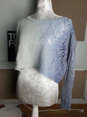 Benetton Stricksweater Oberteil cropped Pulli XS