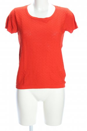 Benetton Stricktop rot Casual-Look