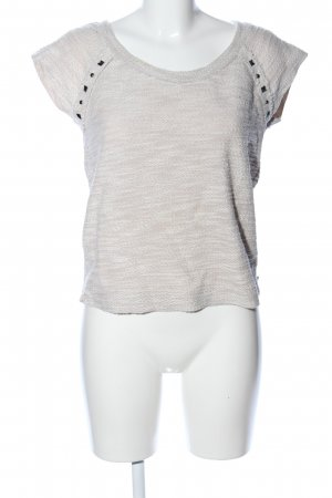 Benetton T-Shirt wollweiß meliert Casual-Look