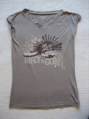 benetton t-shirt gr. s 36 aplikation