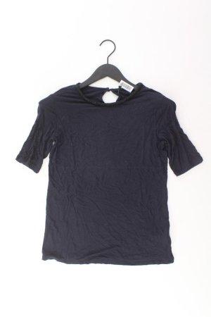 Benetton T-Shirt Größe S Kurzarm blau aus Viskose