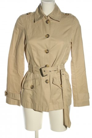 Benetton Trenchcoat goldfarben Casual-Look