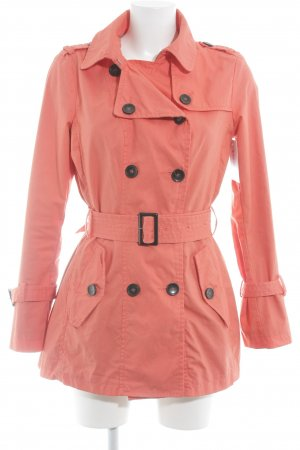 Benetton Trenchcoat lachs Casual-Look