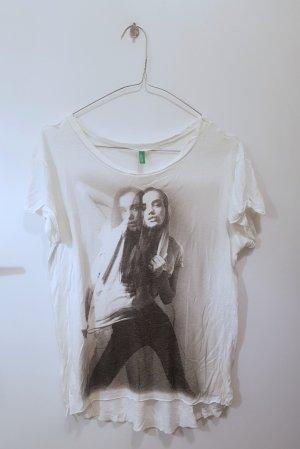 Benetton T-shirt bianco