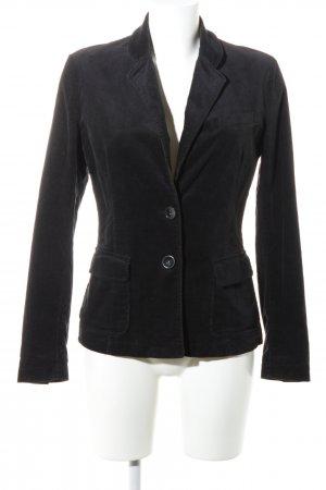 Benetton Unisex-Blazer schwarz Business-Look