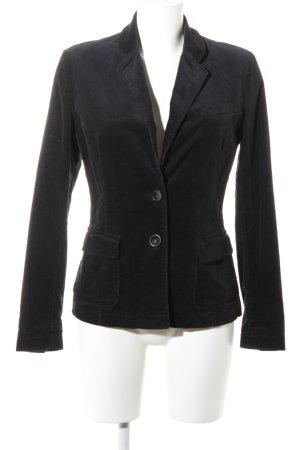 Benetton Unisex blazer zwart zakelijke stijl