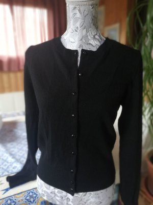 United Colors of Benetton Wool Sweater black angora wool