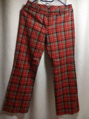United Colors of Benetton Pantalone di lana multicolore Lana