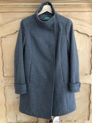 Benetton Wollmantel Mantel Jacke