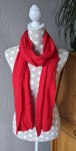 Benetton Wollen sjaal rood