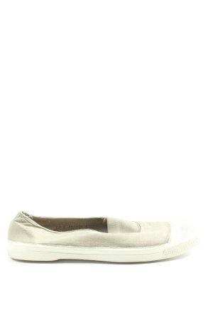 Bensimon Instapsneakers khaki-wit casual uitstraling