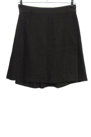 Bensimon Wraparound Skirt black casual look