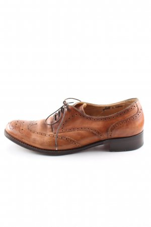 Benson's Lace Shoes brown casual look