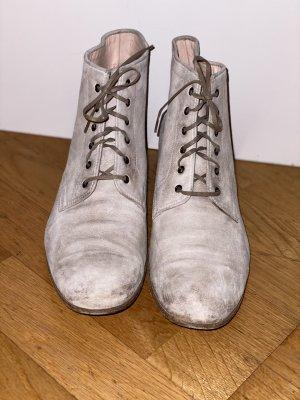 Benson's Slip-on Booties natural white