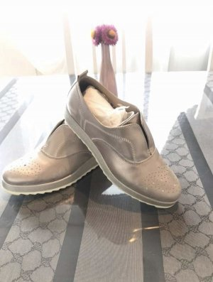 BenVenuti Instapsneakers goud-wit