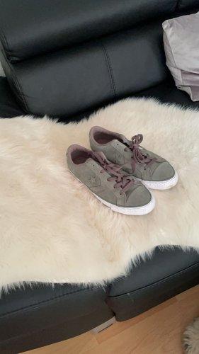 All Star Sneakers met veters grijs-grijs-lila