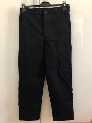 COS Stoffen broek donkerblauw