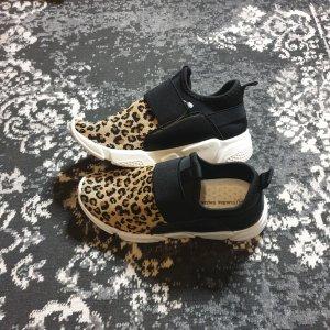 bequeme Freizeitschuhe Leopardenmuster Sportschuhe