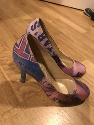 Bequeme Galliano Pumps aus Leder