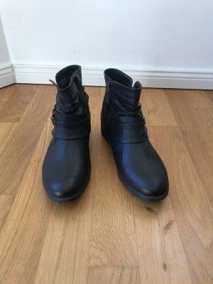 AF Botas con cremallera negro