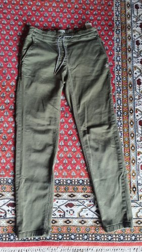 Comma Jersey Pants olive green