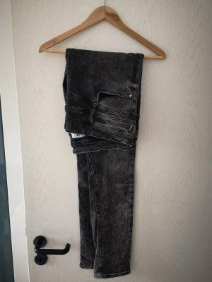 Street One Jeans a vita alta grigio-grigio scuro