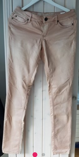 Tom Tailor Denim Pantalón pitillo color rosa dorado