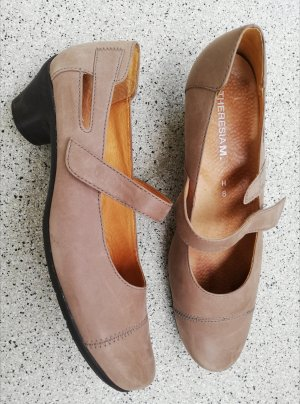 Theresia m. Backless Pumps beige