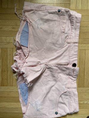 Mango Shorts light pink