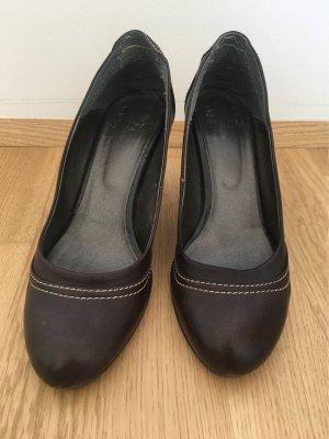 Bata Loafer marrone scuro