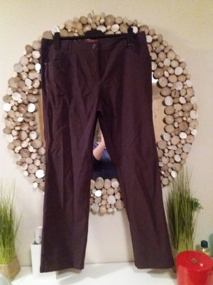 Biaggini Stretch broek grijs-paars