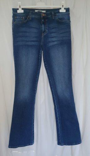 Mavi Jeans elasticizzati blu acciaio Cotone