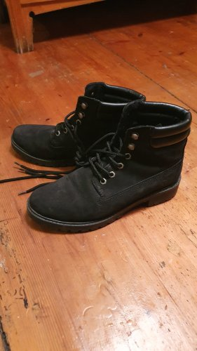 Tamaris Winter Boots black leather