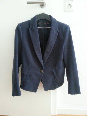 Bequemer Blazer Zara blau marine mit tollen Details! S / M