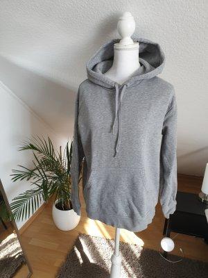 H&M Vestido con capucha gris claro-gris