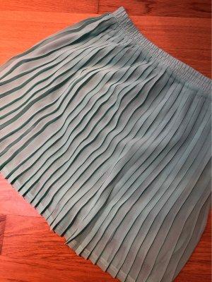 Plaid Skirt mint-sage green