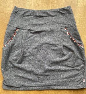 Blutsgeschwister Pencil Skirt azure-red