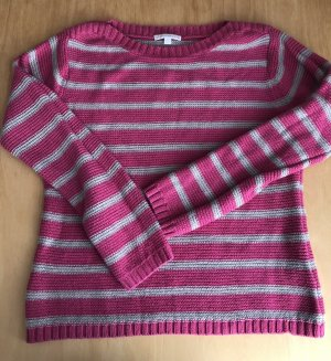 Charles Vögele Knitted Sweater white-pink