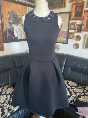 Asos Empire Dress black-purple