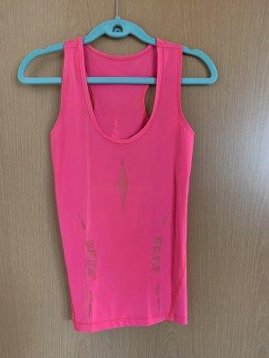 Crivit Canotta sportiva rosa-fucsia neon
