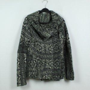 Berenice Cardigan tricotés vert-vert foncé tissu mixte
