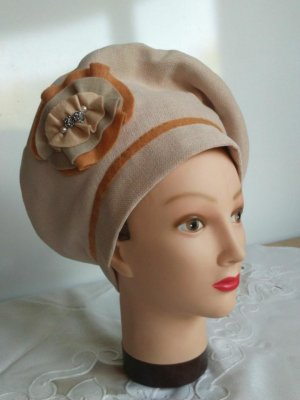 Fabric Hat beige