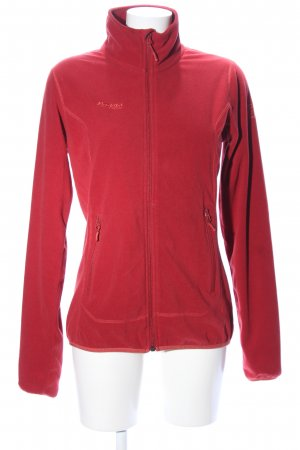 Bergans of Norway Fleecejacke rot Casual-Look