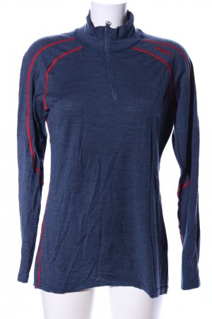 Bergans of Norway Longsleeve blue flecked casual look
