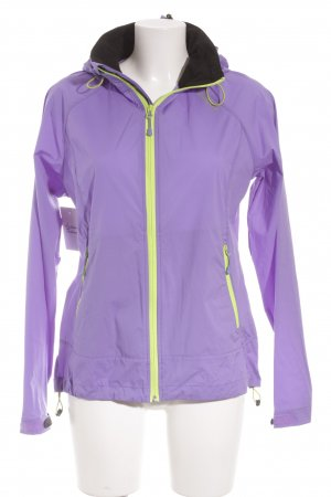 Bergans of Norway Raincoat purple-meadow green athletic style